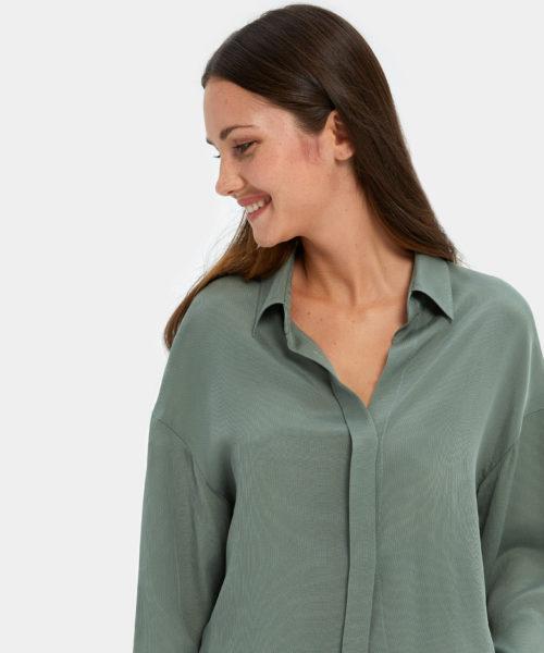 Best Women's Sleepwear - Turn Down Collar Shirt | Nap Sleepwear