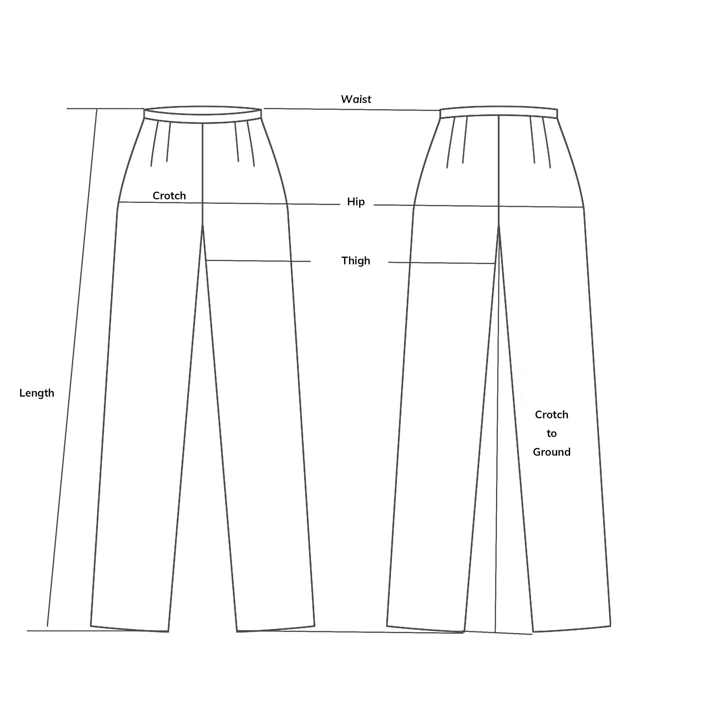 Rayon Wide-leg Pants